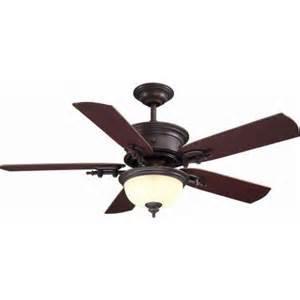 hton bay dawson 54 in weathered copper ceiling fan