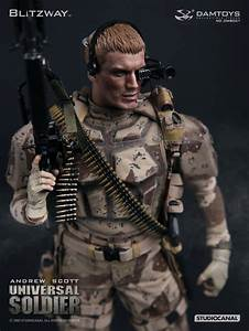 READY DAMTOYS BLITZWAY DMS001 1992 UNIVERSAL SOLDIER ...