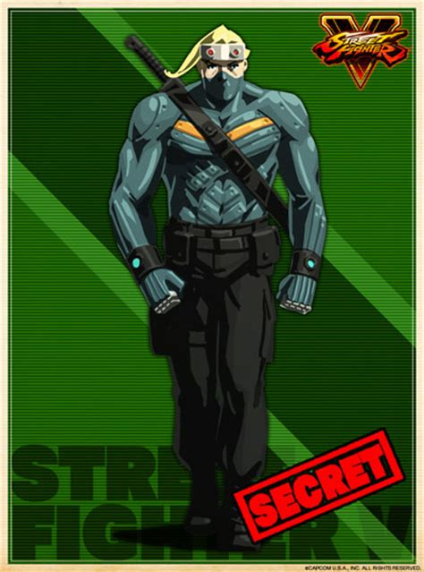 street fighter  rejected costumes final character
