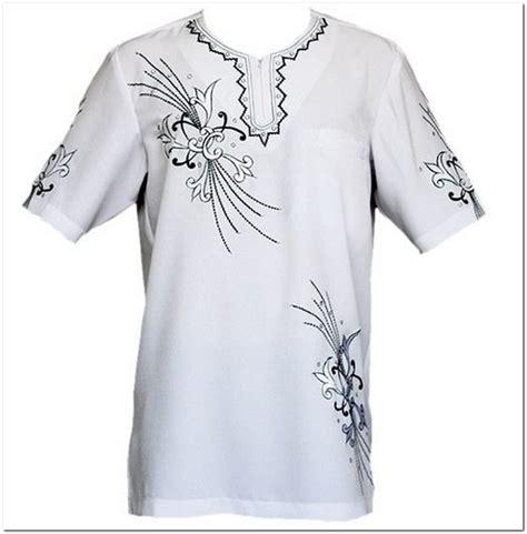 contoh aneka motif bordir baju melayu pria terbaik