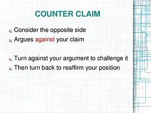 Counter argument in essay southampton university creative writing course ready mix concrete thesis jobs for ba in creative writing