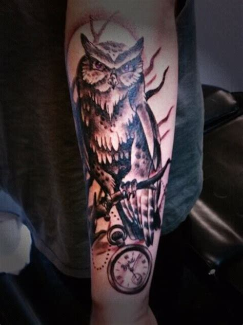 owl tattoos  men designs ideas  meaning tattoos