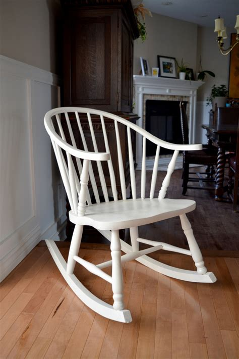 chaise rocking chair rocking chair white