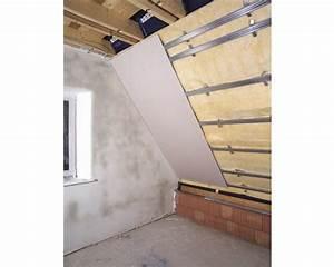 Rigips Unterkonstruktion Dachschräge : gipskartonplatte knauf gkb 2500x1250x12 5mm bei hornbach ~ Lizthompson.info Haus und Dekorationen
