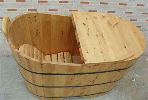 cedar soaking tub indoor oval cedar wooden bathtub soaking wooden barrel