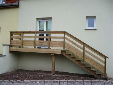 fabricant alsacien de terrasse bois au sol et sur poteaux garde corps et escaliers en kit ou