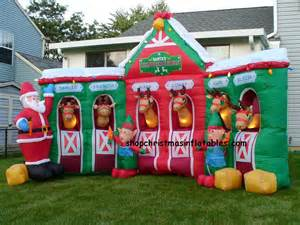 reindeer stable inflatable just b cause