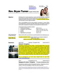 pastor resume template free 7 best images about resume s on shops the bible and letter sle