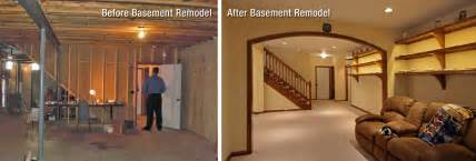 Basement Flies by Before And After Basement Unfinished Basement Ideas