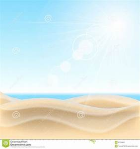 Sand Beach Background. Stock Image - Image: 31794691
