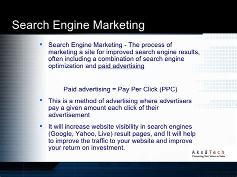 search engine optimization and search engine marketing aksatech search engine optimization