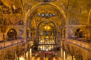 St. Mark's Basilica The Glorious 'Church Of Gold' In Venice
