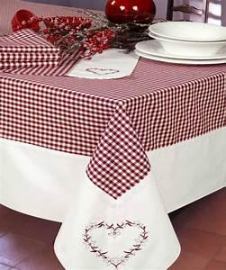 Nappe De Table Rectangulaire : nappe rectangulaire coton nappe style chalet de montagne pinterest nappes coton et chalet ~ Teatrodelosmanantiales.com Idées de Décoration