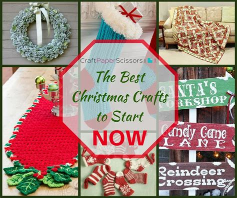 the best christmas crafts to start now craft paper scissors
