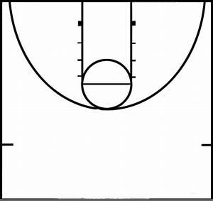 Basketball Half Court