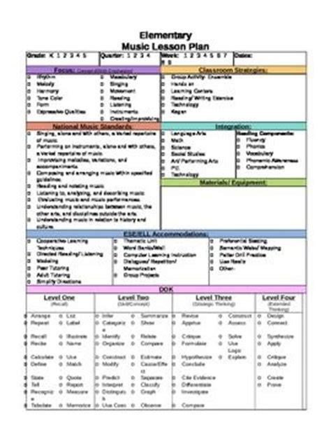 Ohio Department Of Education Lesson Plan Template by Daily Lesson Plan Template 1 Wwwlessonplans4teacherscom