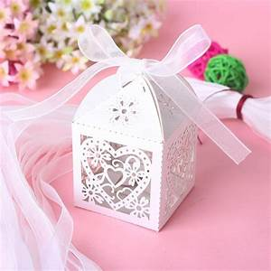 aliexpresscom buy love heart laser cut candy gift boxes With party city wedding favor boxes