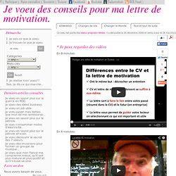 Conseil Rédaction Cv by Lettre De Motivation Definition Et Conseil Employment