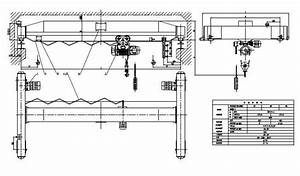 Single   Double Girder Overhead Crane Electrical Diagram Price