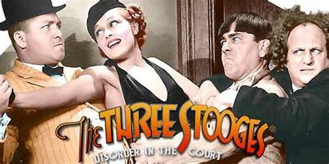 stooges disorder   court  slots