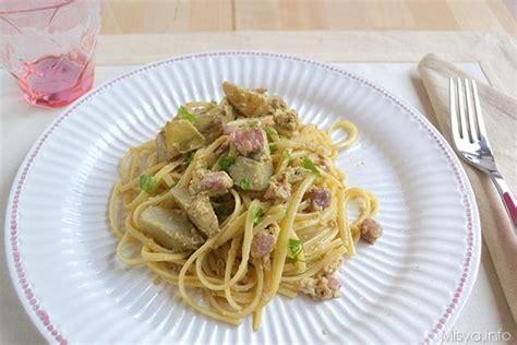 come cucinare carbonara 187 carbonara di carciofi ricetta carbonara di carciofi di