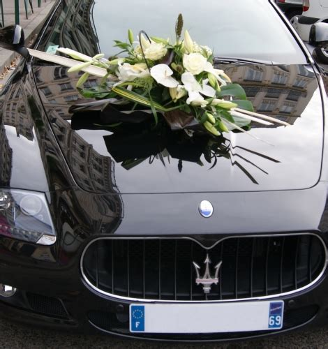 deco pour voiture mariage d 233 coration florale pour voiture mariage