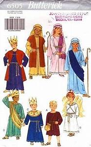 NATIVITY Costume Sewing Pattern - EASY Christmas Play ...