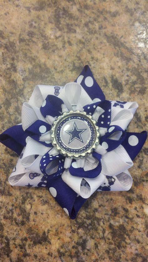 foto de DALLAS COWBOYS Bow Dallas cowboys baby How to make bows