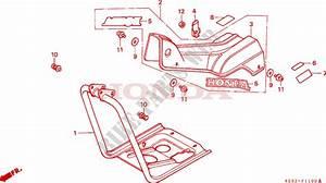 Cowl Leg Shield For Honda Ct 110 Trail Ub 1994   Honda