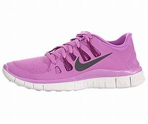 The Womens Nike Free 5 0 Running Shoe Red Violet Bright
