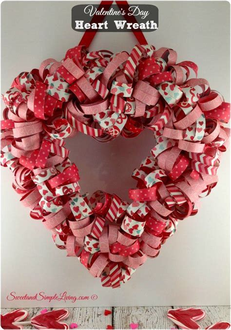 unusally easy cheap diy valentines day home decorations