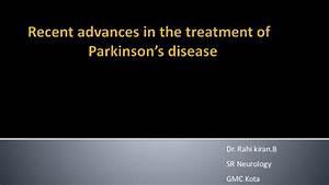 parkinsons disease recent updates