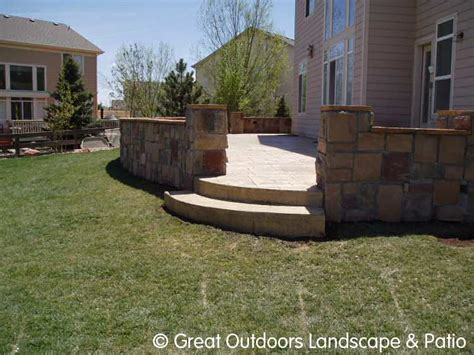 denver colorado landscaping concrete patios more