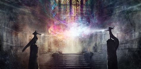 wizard artwork fantasy art digital art magic colorful