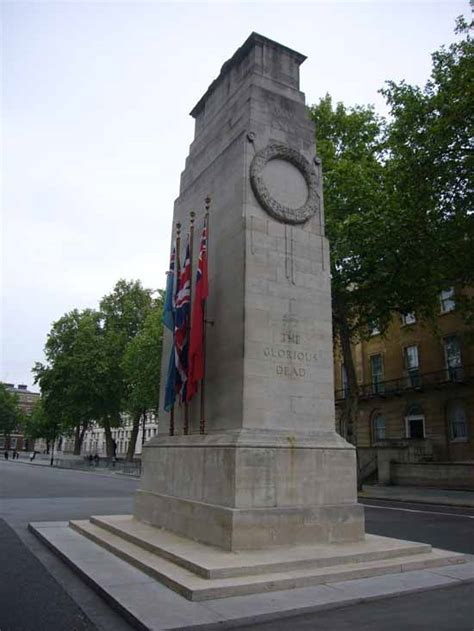 cenotaph war memorial london  architect