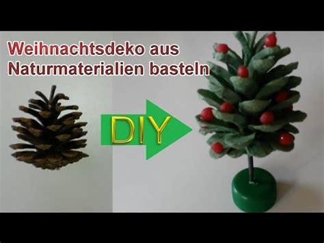 weohmschtsbaum dekoration selsbt mschen deko weihnachtsbaum aus tannenzapfen selbst basteln diy weihnachtsdeko selber machen