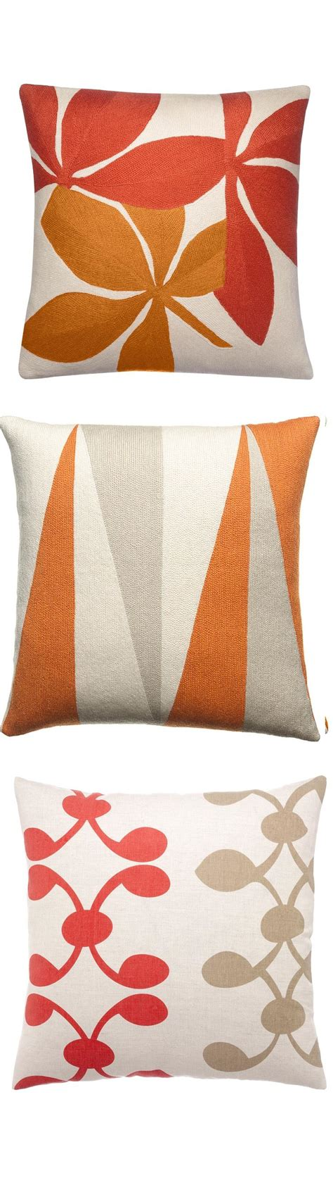 ideas  orange throw pillows  pinterest
