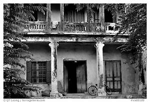 Black and White Picture/Photo: Old house, Hoi An. Hoi An ...