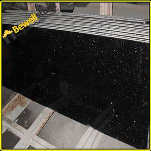 Natural Stone Black Galaxy Granite Hotel Lobby Flooring ...
