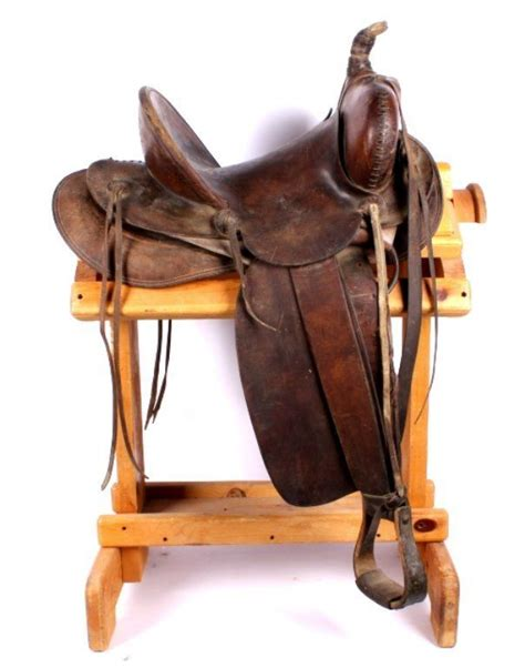 saddle saddles hamley pendleton horse oregon cowboy 1912 tack western gear west equestrian makers antique mark rack chic outfits roping