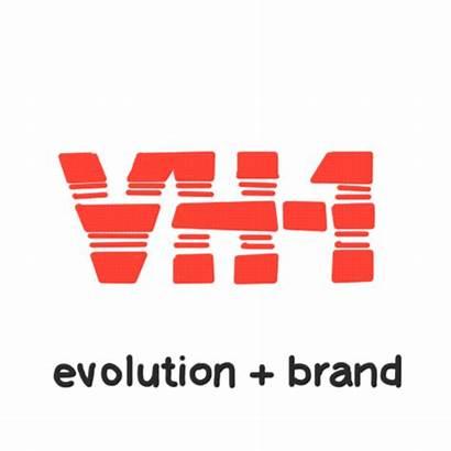 Vh1 Evolution Brand Rebrand Plussed Logos Gifs