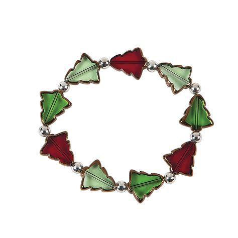 christmas tree bracelet craft kit jewelry crafts adult
