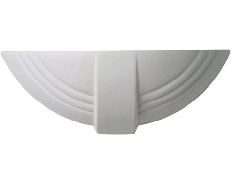 monet ceramic wall light paintable unglazed ceramic and plaster wall lights from