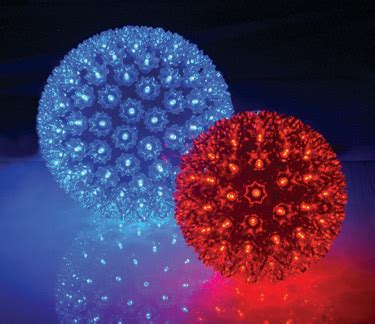 led starlight sphere greenwindy city lights
