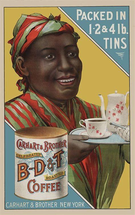 coffee poster black art african american art bdt