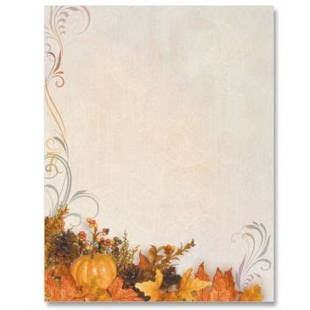 Swirls of Autumn Border Papers Borders for paper Autumn