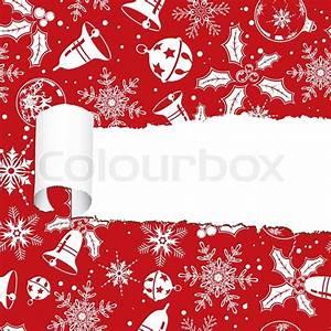 Hin Und Mit : hin und hergerissen christmas dekorpapier mit loch element f r design vektor illustration ~ Eleganceandgraceweddings.com Haus und Dekorationen