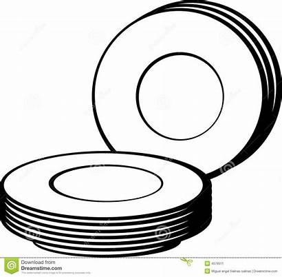 Dishes Illustration Vector Bunch Dreamstime