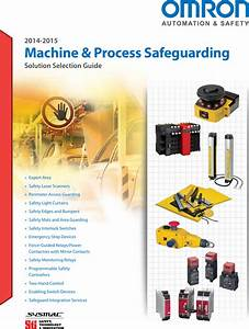 Omron Machine And Process Safeguarding 2014 2015 Safety