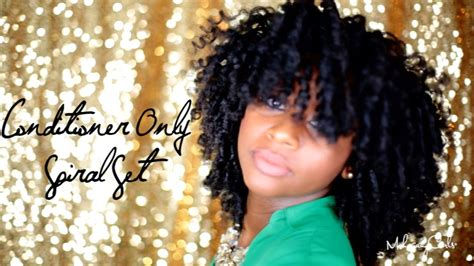 How To Get Bouncy & Voluminous Spiral Curls